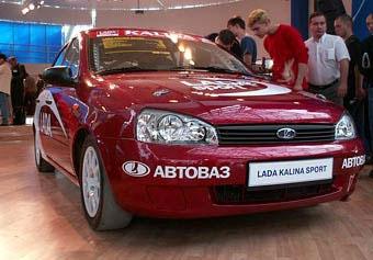 """""""Заряженная"""" Lada Kalina поступит в продажу в 2008 году"""