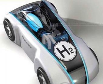 Первый китайский водородный автомобиль оказался игрушкой