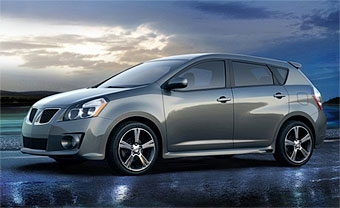 Новый Pontiac Vibe появится в ноябре