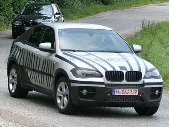 Новый кроссовер BMW сфотографировали без камуфляжа