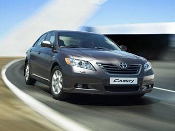 Toyota увеличит в России выпуск Camry на 20 тысяч машин в год