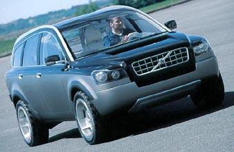Внедорожник Volvo появится на рынке в следующем году