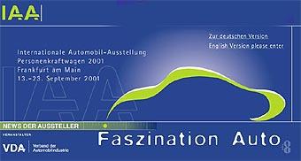 Автошоу во Франкфурте открылось для журналистов