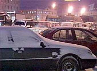 Пробки в Москве не рассосались и после полуночи