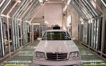 DaimlerChrysler отзывает 55 тысяч автомобилей Mercedes из-за неполадок в тормозной системе