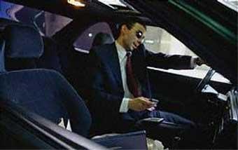 Штраф за разговор по мобильному за рулем составит 20 рублей