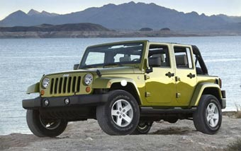 Jeep сделал Wrangler четырехдверным