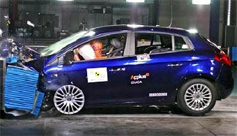 По методике EuroNCAP разбили пять новых автомобилей