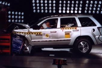 Внедорожники оказались на 5-7 процентов безопаснее легковых машин