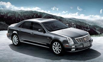 GM представил удлиненный Cadillac STS в Китае