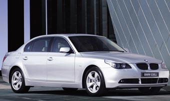 Специально для китайцев BMW 5-Series сделали длиннее