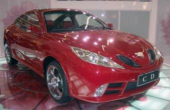 Китайцы будут продавать в Европе свой первый спорткар