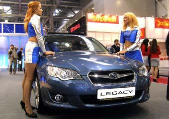 В Москве показали обновленные Subaru Legacy и Outback