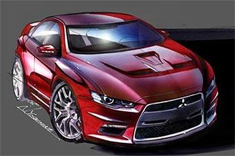 Прототип Mitsubishi Evo X покажут в Детройте