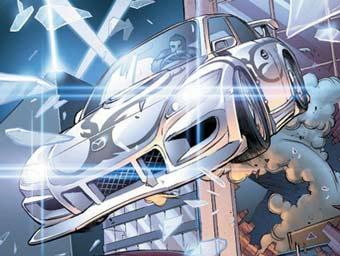 Mazda RX8 победит всех врагов в новом комиксе