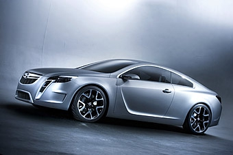В Женеве Opel представит прототип большого купе