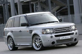 Немецкие тюнеры создали 520-сильный Range Rover Sport