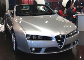 В России начались продажи Alfa Romeo Spider
