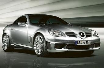 AMG выпустит специальную серию 400-сильных родстеров Mercedes SLK
