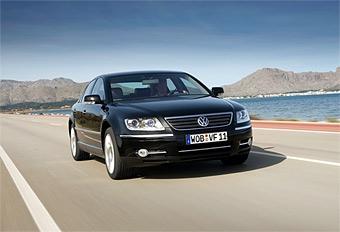 Обновленный VW Phaeton показали в Женеве