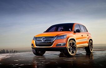 Volkswagen показал предсерийную версию VW Tiguan