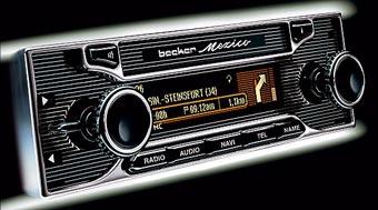 Сверхсовременную автомагнитолу замаскировали под старое радио