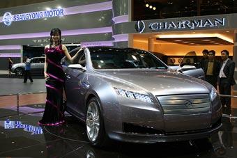 SsangYong представил концептуальный представительский седан