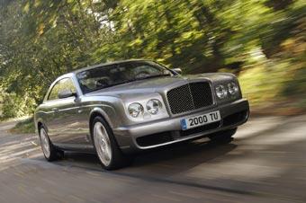 В Женеве представлено купе Bentley Brooklands