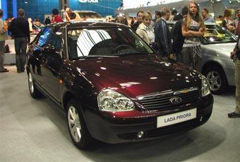 Производство  хетчбэков Lada Priora начнется в феврале 2008 года