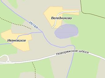 На Новорижском шоссе поскользнулись 15 машин