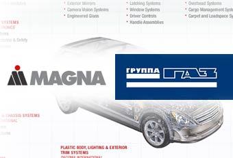 """Группа """"ГАЗ"""" и Magna будут вместе выпускать комплектующие"""