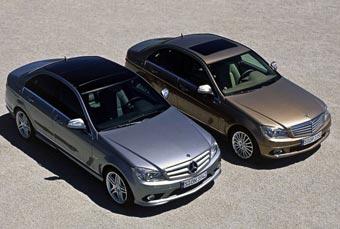 В первые дни продаж европейцы заказали 75 000 новых Mercedes C-Class