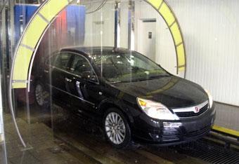 Saturn Aura признан самым удобным для мойки автомобилем