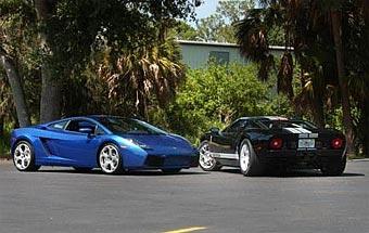 В Америке построили самые быстрые Lamborghini Gallardo и Ford GT