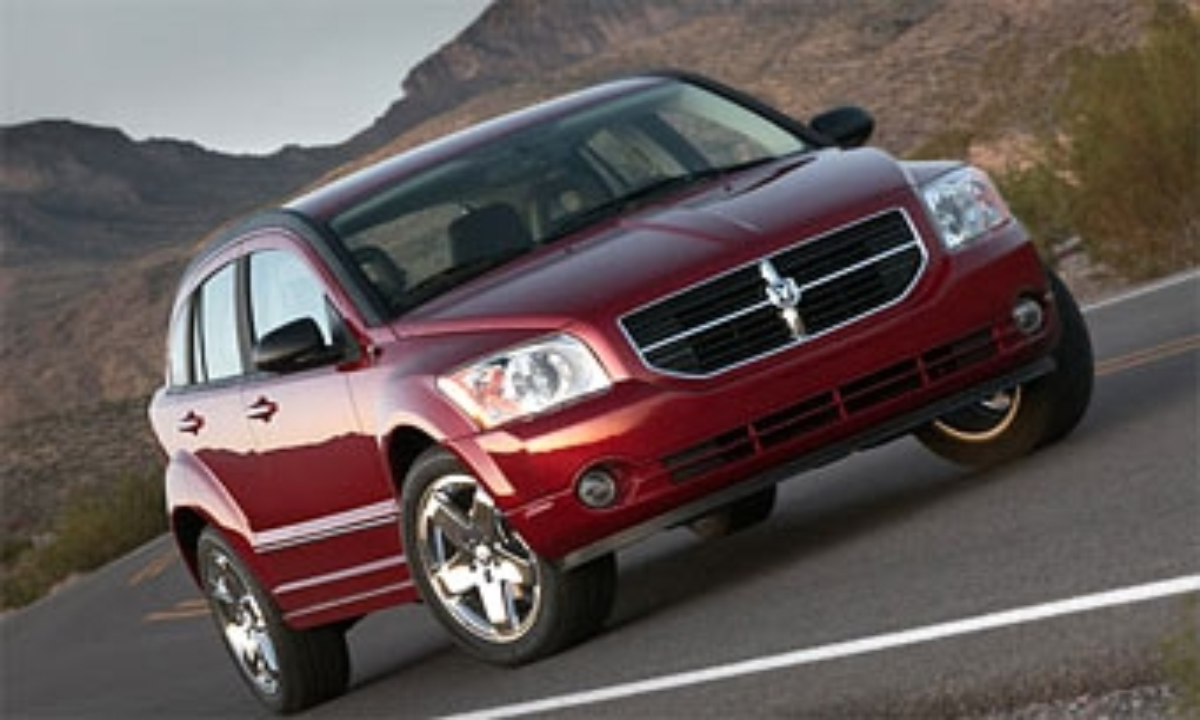 Chrysler отменяет скидки на Dodge Caliber из-за ажиотажного спроса