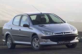 Peugeot 206 стал самым массовым французским автомобилем