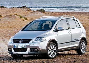 Volkswagen представит в Париже новый CrossGolf
