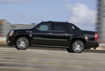 Cadillac Escalade EXT возглавил рейтинг американских страховщиков по угонам