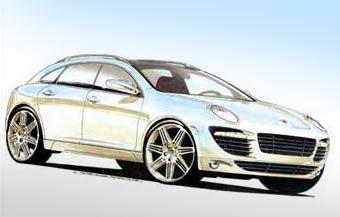 Будущее поколение Porsche Cayenne станет более спортивным