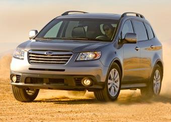 Subaru показала первые фотографии обновленной Tribeca