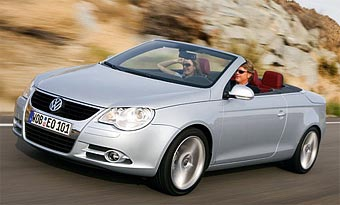 VW Eos стал самым продаваемым кабриолетом в Германии