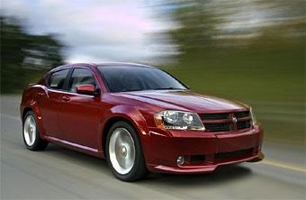 Dodge представил Avenger для европейского рынка