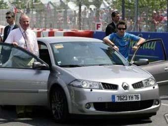 Renault Фернандо Алонсо выставлен на продажу
