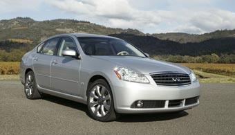 Nissan анонсировал модели Infiniti для России