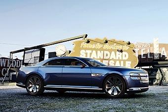 """Ford показал концептуальный седан на базе """"Мустанга"""""""