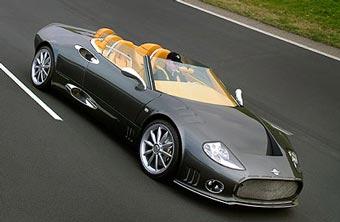 Spyker представит в Женеве нового флагмана модельного ряда
