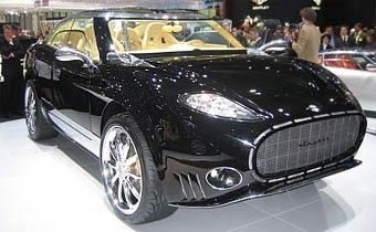 Внедорожник Spyker получил имя D12 Peking-to-Paris