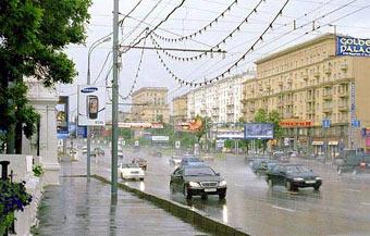 Движением на Ленинградском проспекте будет управлять автоматика