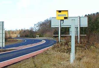 На российских дорогах появятся автоматические камеры контроля скорости