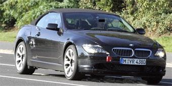 BMW планирует обновить шестую серию